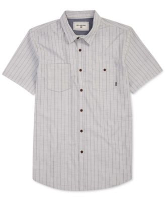 Billabong Men's Static Stripe Short-Sleeve Shirt