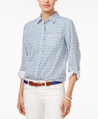 Tommy Hilfiger Floral-Print Shirt, Only at Vogily