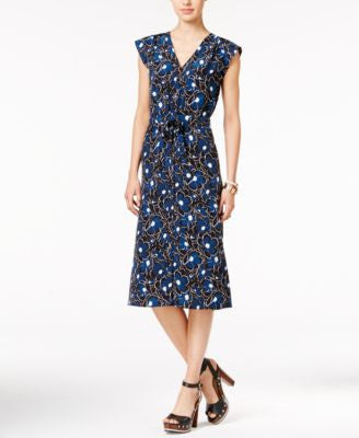 Tommy Hilfiger Floral-Print A-Line Dress, Only at Vogily