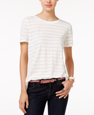 Tommy Hilfiger Emery Striped T-Shirt, Only at Vogily