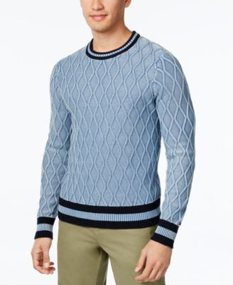 Tommy Hilfiger Men's Will Woodgrain Sweater