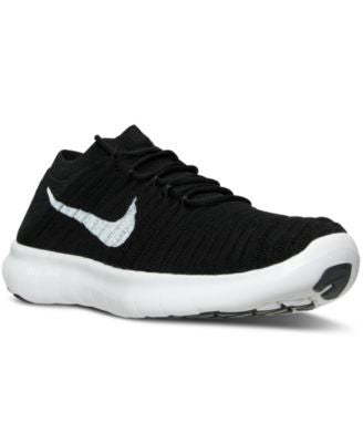 Nike Women's Free Run Motion Flyknit Running Sneakers from Finish Line