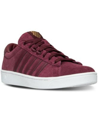 K-Swiss Women's Hoke Suede CMF Casual Sneakers from Finish Line