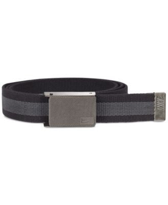 Nike Men's Reversible Beverage-Opener Web Belt