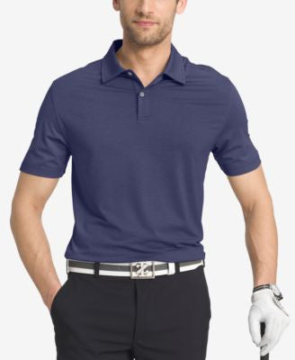 IZOD Men's Striped Performance Golf Polo
