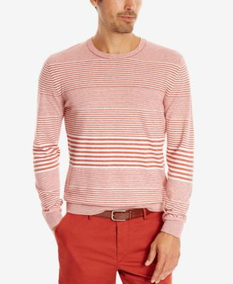 BOSS Men's Striped Sweater