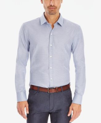 BOSS Slim-Fit Cotton Button-Down Shirt