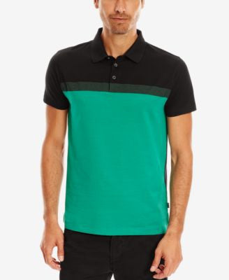 BOSS Men's Slim-Fit Mercerized Polo Shirt