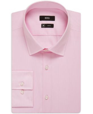 BOSS Men's Slim-Fit Fresh Active Traveler Dress Shirt