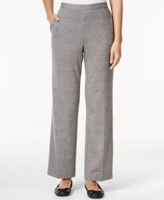 Alfred Dunner Acadia Collection Pull-On Straight-Leg Pants