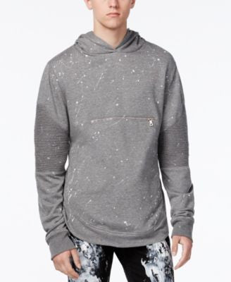 Reason Men's Paint-Splatter Hoodie