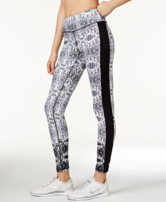 Karen Kane Life Printed Active Leggings