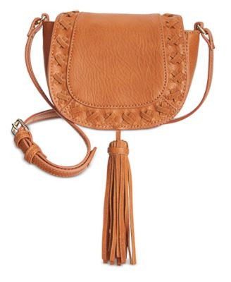 INC International Concepts Logan Mini Saddle Bag, Only at Vogily