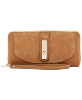 GUESS Kingsley Large Zip Around Wallet