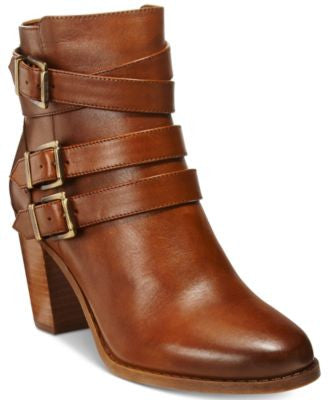INC International Concepts Laini Block-Heel Booties, Only at Vogily