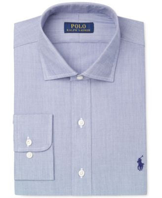 Polo Ralph Lauren Classic-Fit Solid Dress Shirt