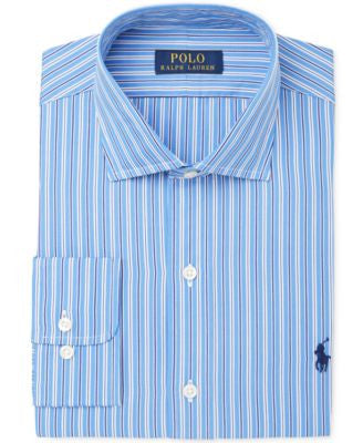 Polo Ralph Lauren Men's Classic-Fit Stripe Dress Shirt