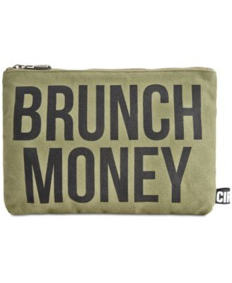 Circus by Sam Edelman Brunch Canvas Clutch