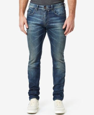Buffalo David Bitton Men's Max-X Stretch Ripped and Authentic Jeans