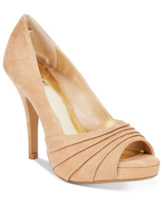 Thalia Sodi Marissa Ruched Platform Pumps, Only at Vogily