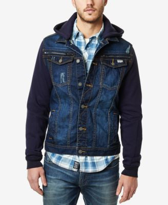Buffalo David Bitton Men's Denim Trucker Jacket