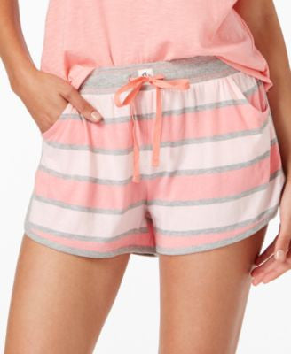 Tommy Hilfiger Rugby-Striped Pajama Shorts