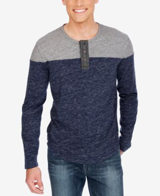 Lucky Brand Men's Colorblocked Henley