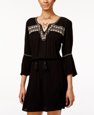 American Rag Embroidered Peasant Dress, Only at Vogily