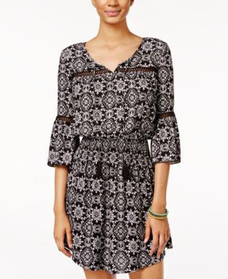 American Rag Printed Peasant Dress, Only at Vogily