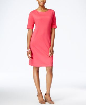 Karen Scott Petite T-Shirt Dress, Only at Vogily