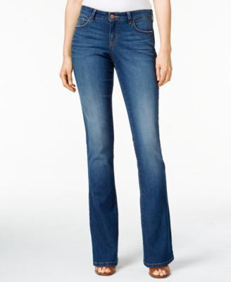Style & Co. Curvy Marine Wash Bootcut Jeans, Only at Vogily