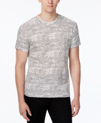 WHT SPACE Men's Chalk Stripe T-Shirt, Only at Vogily