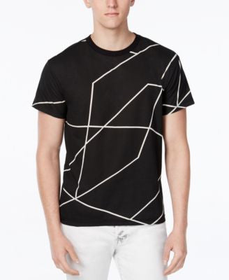 WHT SPACE Men's Graphic Line T-Shirt, Only at Vogily