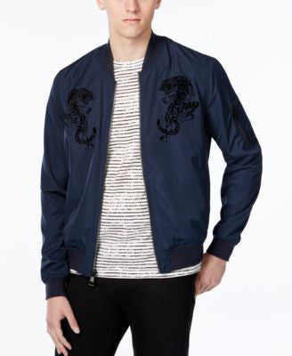 WHT SPACE Men's Tiger Bomber Jacket, Only at Vogily