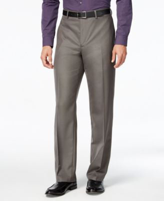 Alfani Men's Gray Pants, Classic Fit