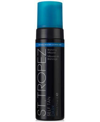 St. Tropez Self Tan Dark Bronzing Mousse, 200 ml