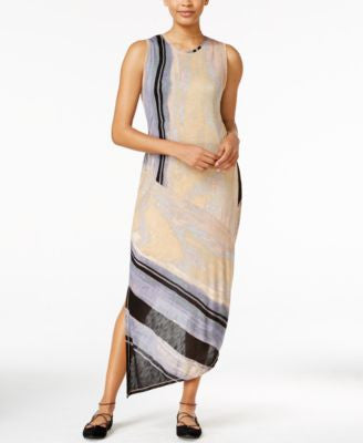 RACHEL Rachel Roy Printed Draped-Back Dress, Only at Vogily