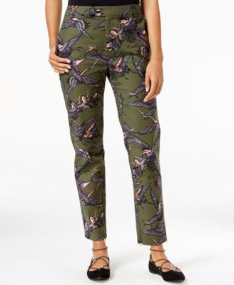 RACHEL Rachel Roy Printed Ankle-Zip Pants, Only at Vogily