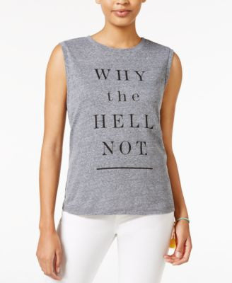 RACHEL Rachel Roy Why Not Graphic Tank Top, Only at Vogily