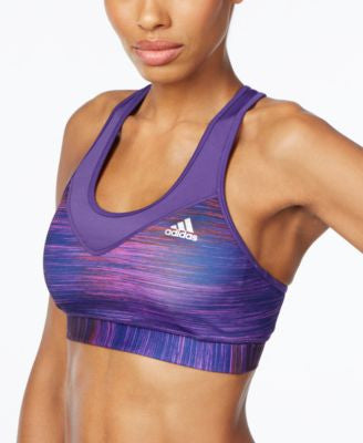 adidas TechFit Space-Dyed ClimaLite Mid-Impact Sports Bra