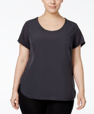Calvin Klein Performance Plus Size Racerback T-Shirt