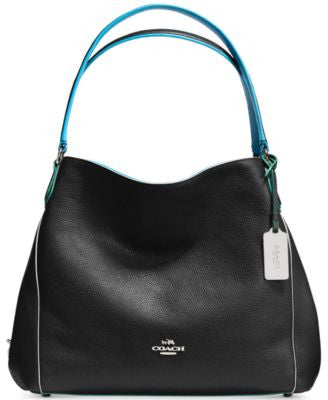 COACH Edie Shoulder Bag 31 in Edgestain Leather