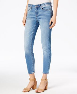 Calvin Klein Jeans Cropped Marshy Rain Wash Skinny Jeans