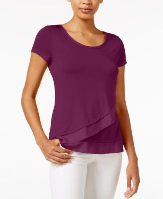 Maison Jules Asymmetrical Contrast Top, Only at Vogily