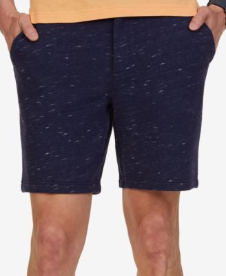 Nautica Men's Classic-Fit French Terry Flat-Front Shorts