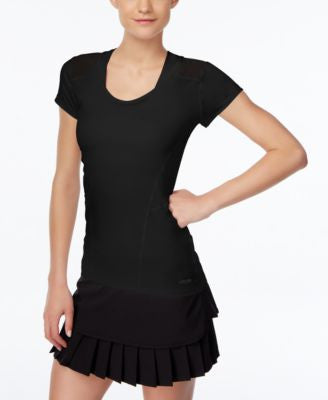 Calvin Klein Performance Cap-Sleeve Top
