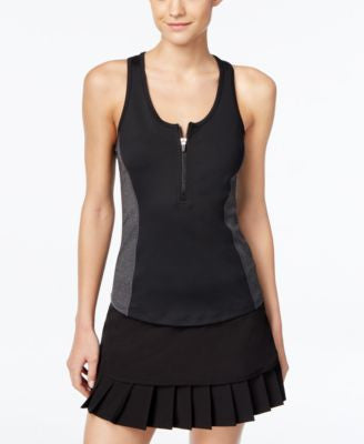Calvin Klein Performance Colorblocked Racerback Tank Top