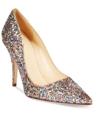 kate spade new york Licorice Too Multicolor Glitter Pumps