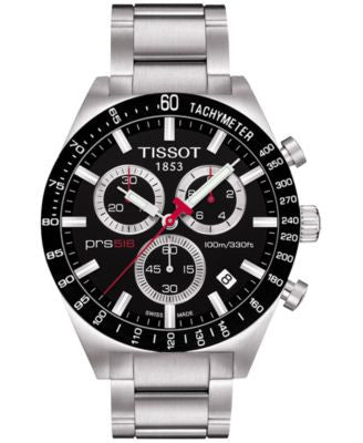 Tissot Men's Swiss Chronograph PRS 516 Stainless Steel Bracelet Watch 42mm T0444172105100