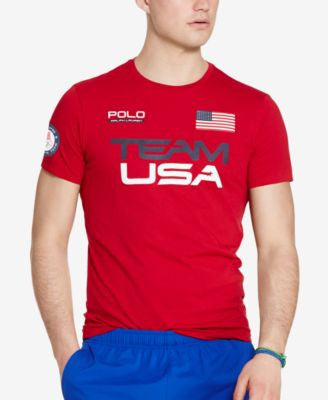 Polo Ralph Lauren Men's Team USA Graphic T-Shirt